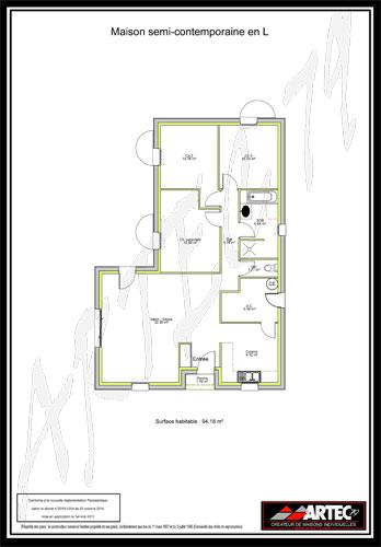 maison semicontemporaine
