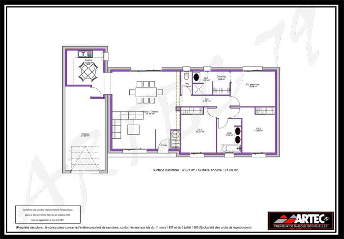 plan de maison 79